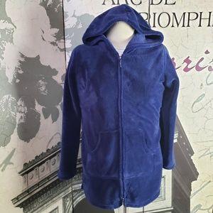 Soft Surroundings Hooded Plush Jacket Size S